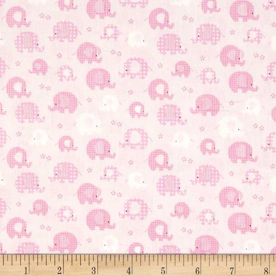 Bobo baby bobo baby lt pink discount designer fabric for Cheap baby fabric