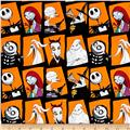 The Nightmare Before Christmas Character Blocks Orange
