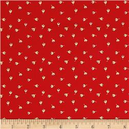 Penny Rose Meadow Sweets Buds Red