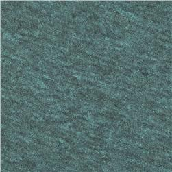 Tri-Blend Heather Jersey Knit Dark Teal Green