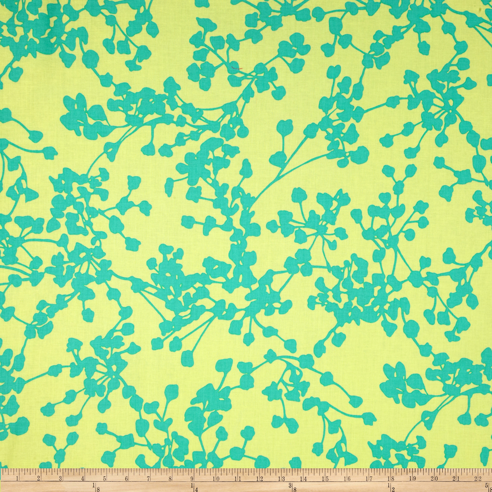 Amy Butler Belle Coriander Blue Fabric