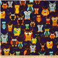 Nite Owls Large Owls Purple