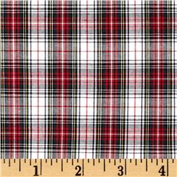 Kaufman Sevenberry Classic Plaids Red