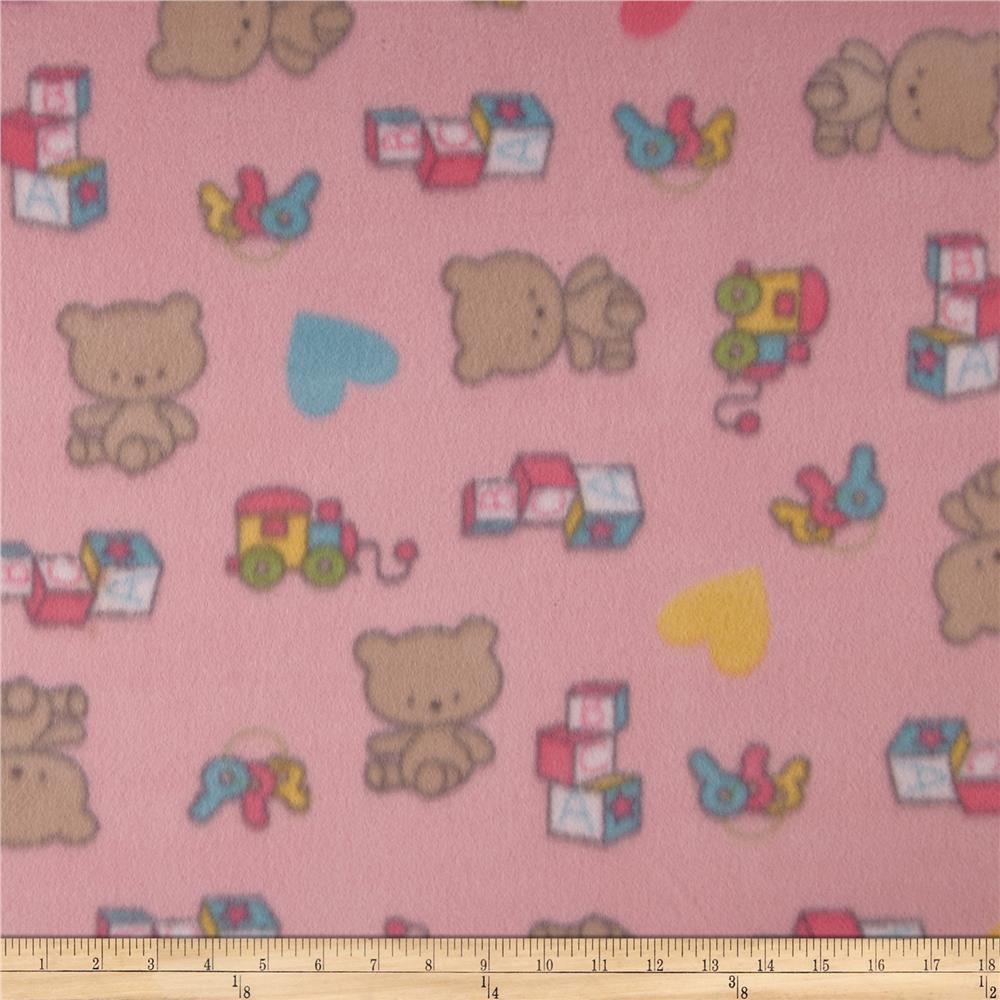 Object moved for Fleece fabric childrens prints