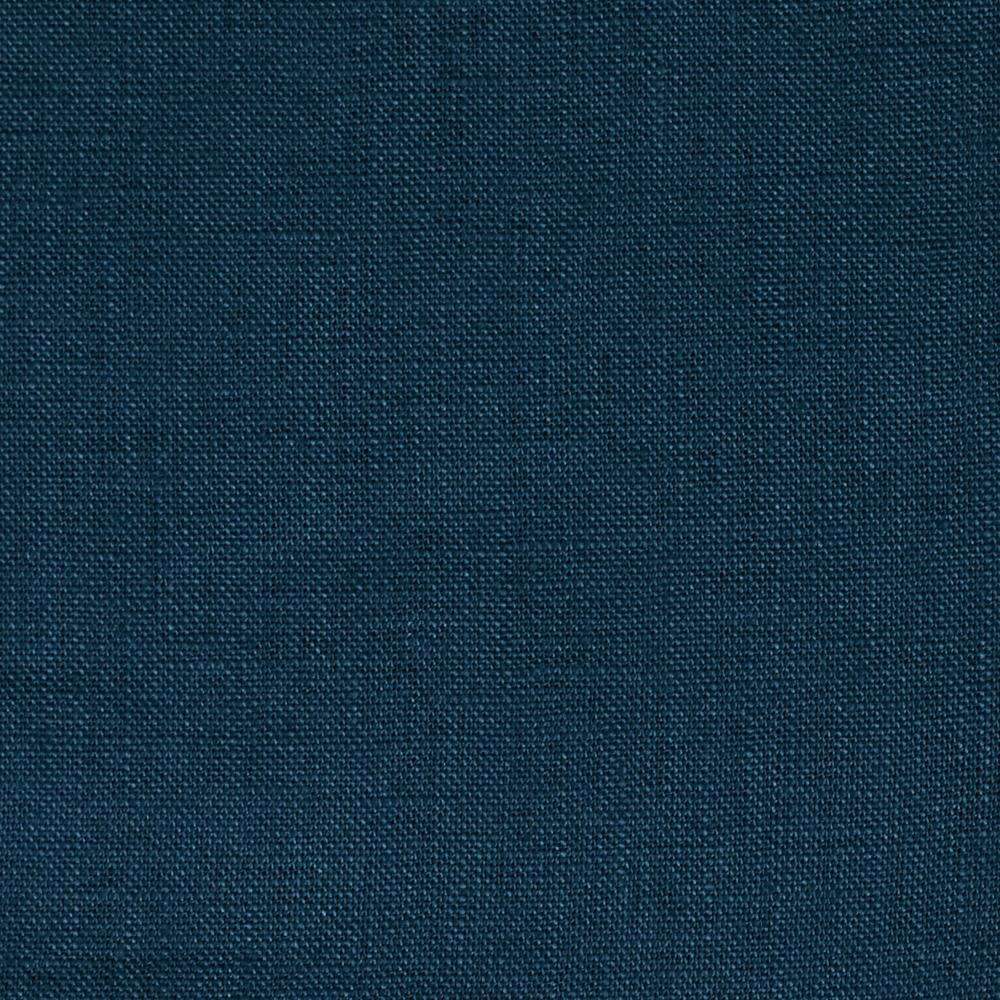Stonewashed Linen Navy Blue Discount Designer Fabric