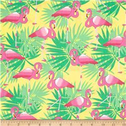 Bahama Breeze Pink Flamingo Yellow
