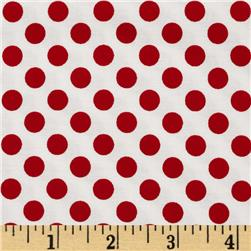 Moda Kiss Kiss Dots Cloud-Lipstick Fabric