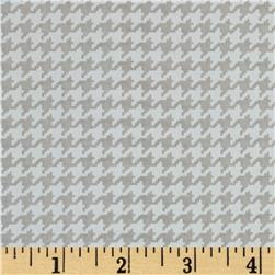 Michael Miller Tiny Houndstooth Cloud Fabric