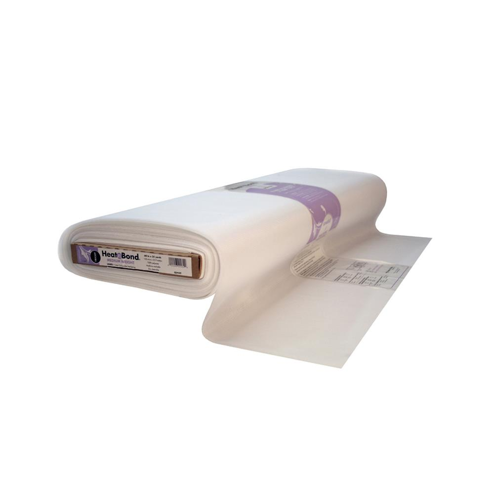 Heat'n Bond Q2430 Tricot Fusible - Medium Weight White 60""