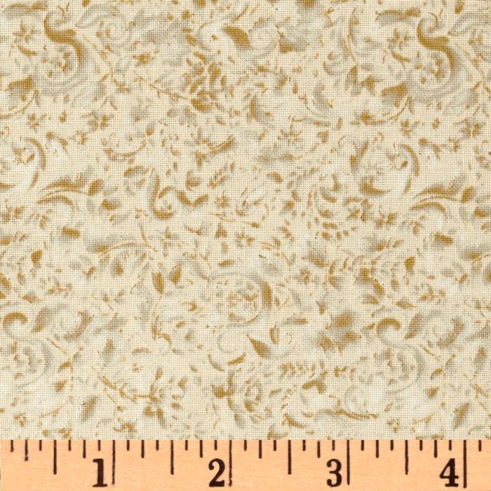 118'' Wide Focus Quilt Backing Antique