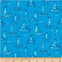 Lighthouse Wonders Mini Lighthouses Blue