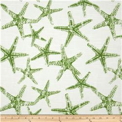 Premier Prints Sea Friends Slub Coastal Green Fabric