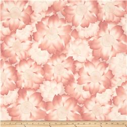 Robert Kaufman Imperial Collection Metallic Abstract Flowers Garden