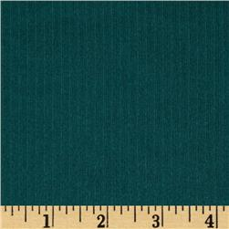 Silky Tricot Stripes Emerald Green