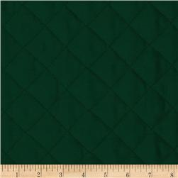 Double Sided Quilted Broadcloth Forest Green