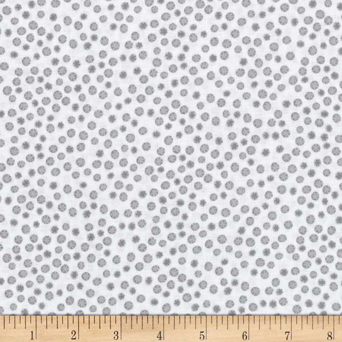 Monkey Business Dots Grey