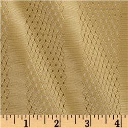 3 Pointer Nylon Athletic Mesh Stripes Camel