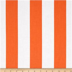 Riley Blake 2'' Stripe Orange Fabric