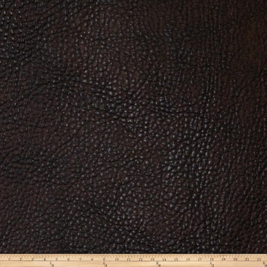 Fabricut Chemical Faux Leather Truffle