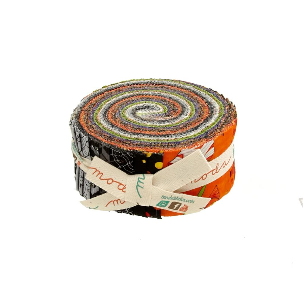 "Moda Midnight Masquerade 2.5"" Jelly Roll Multi"