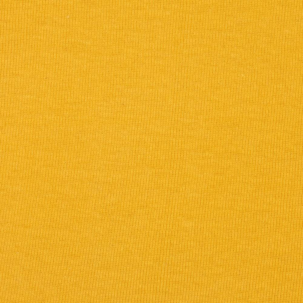 Basic cotton baby rib knit solid canary yellow discount for Yellow baby fabric