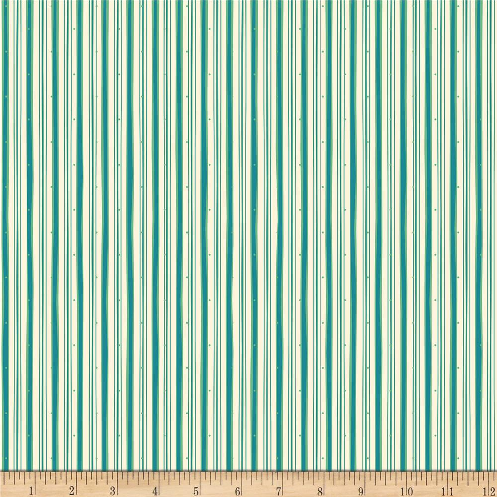 Riley Blake Witch Hazel Witch Stripe Green