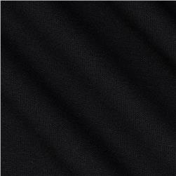 Designer Ribbed Double Knit Black