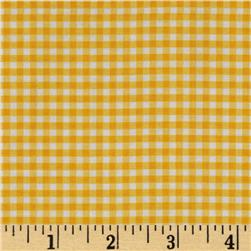 Riley Blake Small Gingham Yellow