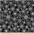 Winter Essential IV Large Snowflake Black