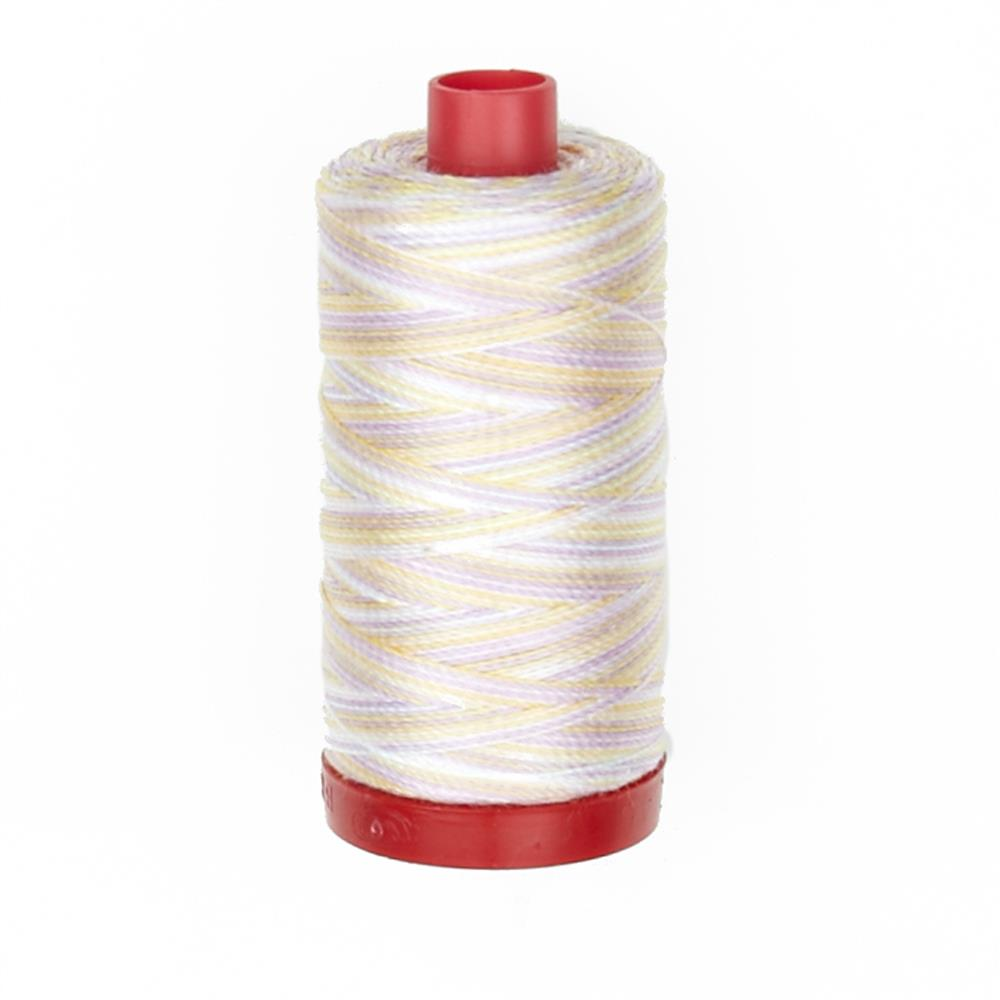 Aurifil 12wt Variegated Embellishment and Sashiko Dreams Thread Bari