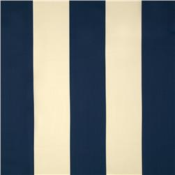 Bella-Dura Eco-Friendly Indoor/Outdoor Cabana Stripe Marine Blue