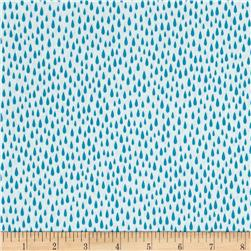 Kaufman Paintbox Pacific Raindrops Turquoise