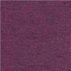Tri-Blend Heather Jersey Knit Orchid