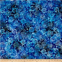 Anthology Batik Leaves Blue/Blue