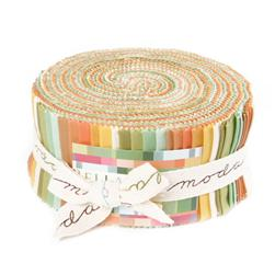 Moda Bella Solids 2-1/2'' Jelly Roll Warm