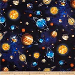 Stargazers Planets Royal Fabric