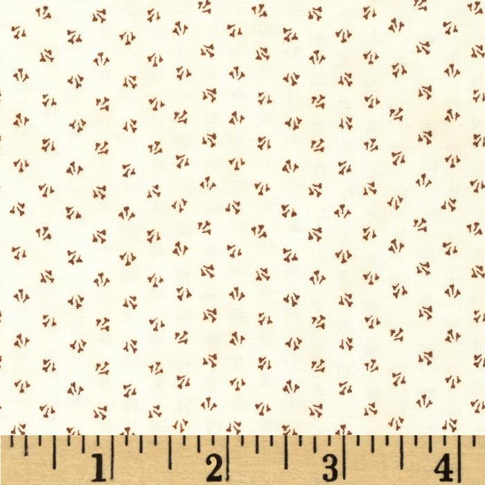 Penny Rose 19th Century Shirtings Petals Brown
