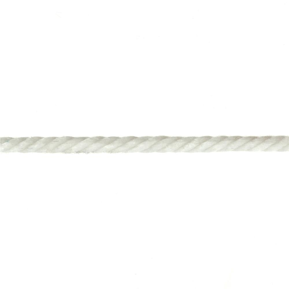 1/4'' Cable Cord White - By the Yard