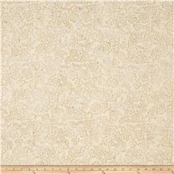 Timeless Treasures Batik Tonga Sophisticate Oxalis Cream