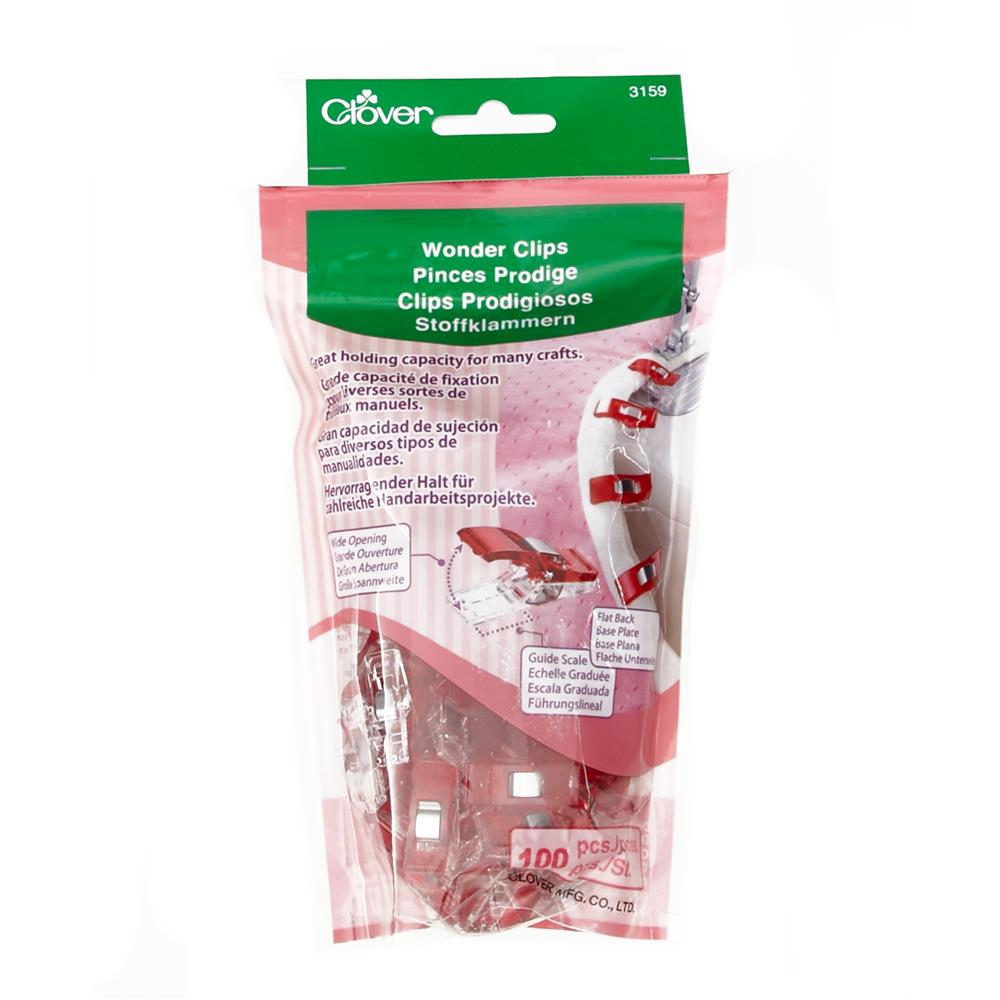 Clover Wonder Clips Pkg of 100