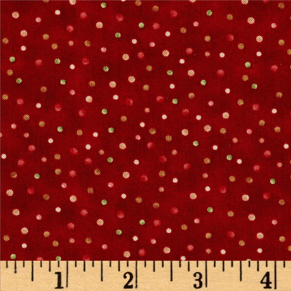 Winter Games Dots Red