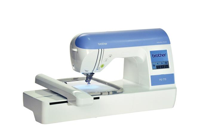 Brother PE770 Embroidery Machine with USB Memory-Stick Compatibility