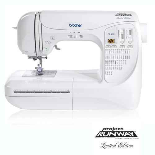 Brother PC-210 PRW Limited Edition Project Runway Sewing