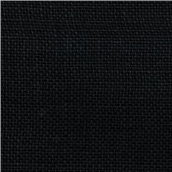 Alpine Burlap Black Fabric