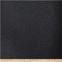 Fabricut Gold Faux Leather Raven