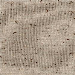 Coconut Grove Speckled Shirting Natural