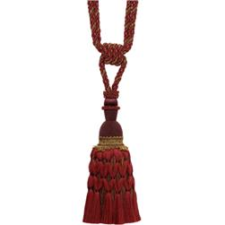 Collier Campbell Dancer Single Tassel Tieback Spice Market