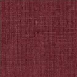 Yarn Dyed Solid Shirting Raspberry