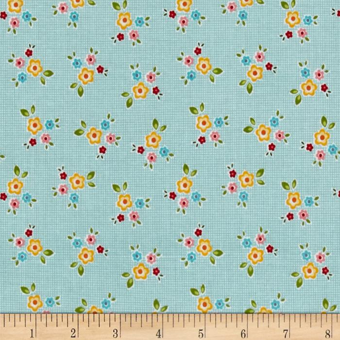 Riley Blake Bloom & Bliss Floral Blue