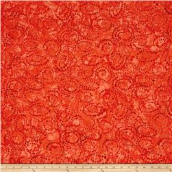 Timeless Treasures Tonga Batik Happy Hour Dotty Spiral Punch